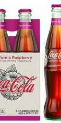Вода «Coca-Cola California Raspberry» стекло