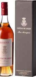Арманьяк французский «Bas-Armagnac du Chateau de Lacquy Reference XO» в подарочной упаковке