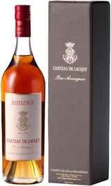 Арманьяк французкий «Bas-Armagnac du Chateau de Lacquy Reference XO» в подарочной упаковке