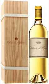 Вино белое сладкое «Chateau d'Yquem Sauternes» 2016 г., в подарочной упаковке
