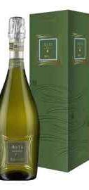 Вино игристое белое сладкое «Bosio Asti Millesimato» 2019 г., в подарочной упаковке