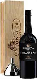 Портвейн сладкий «Fonseca Vintage» 2017 г., в деревянной подарочной упаковке