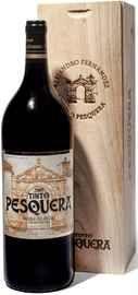 Вино красное сухое «Tinto Pesquera Reserva» 2007 г., в деревянной упаковке