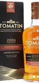 Виски шотландский «Limited Edition Amontillado Sherry 12 YO» 2006 г., в подарочной упаковке