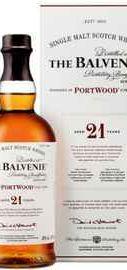 Виски шотландский «Balvenie PortWood 21 Years Old» в подарочной упаковке