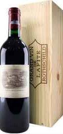 Вино красное сухое «Chateau Lafite Rothschild Pauillac 1-er Grand Cru» 2011 г., в подарочной упаковке