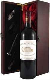 Вино красное сухое «Chateau Margaux Premier Grand Cru Classe» 2011 г., в подарочной упаковке