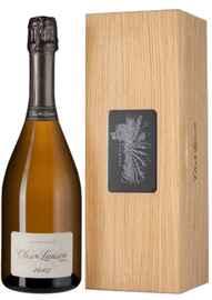 Шампанское белое экстра брют «Clos Lanson Brut Nature» 2007 г., в деревянной подарочной упаковке