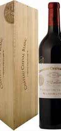 Вино красное сухое «Chateau Cheval Blanc St-Emilion 1-er Grand Cru Classe» 2011 г., в подарочной упаковке