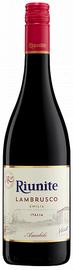 Вино игристое красное полусладкое «Riunite Lambrusco Emilia»