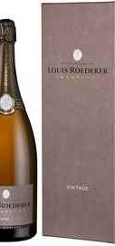 Шампанское белое брют «Louis Roederer Brut Vintage» 2013, в подарочной упаковке Делюкс