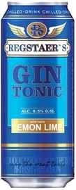 Коктейль винный газированный «Regstaer's Gin Tonic Lemon Lime»