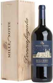 Вино красное сухое «Donnafugata Mille e una Notte Contessa Entellina» 2016 г., в деревянной подарочной упаковке