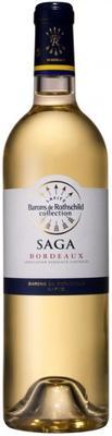 Вино белое сухое «Domaine Barons de Rothschild Saga Bordeaux Blanc» 2016 г.