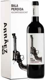 Вино красное сухое «Bala Perdida» в подарочной упаковке