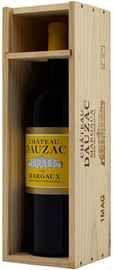 Вино красное сухое «Chateau Dauzac Margaux Grand Cru Classe» 2012 г., в деревянной упаковке