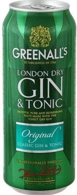 Джин-тоник «Greenall's Gin-Tonic Original»