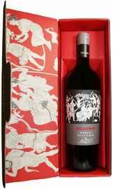 Вино красное полусухое «Feudo Arancio Hedonis Riserva» 2015 г., в подарочной упаковке