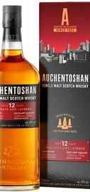 Виски шотланский «Auchentoshan 12 Years Old» в подарочной упаковке