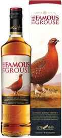 Виски шотландский «Famous Grouse» в подарочной упаковке