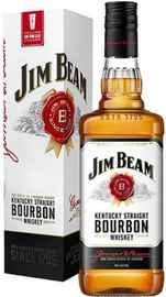 Виски американский «Jim Beam» в подарочной упаковке