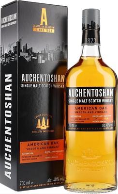 Виски шотландский «Auchentoshan American Oak» в подарочной упаковке