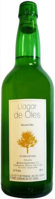 Сидр яблочный сухой «Llagar de Oles»