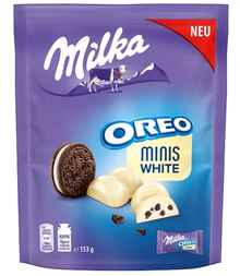 Конфеты «Milka Oreo Minis White» 153 гр.