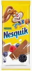 Шоколад «Nesquik с молочной начинкой, ягодами и злаками» 100 гр.