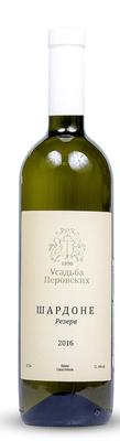 Вино столовое белое сухое «Шардоне Резерв»
