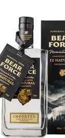 Водка особая «Bear Force Powerful» с корнем в подарочной упаковке