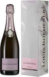 Шампанское розовое брют «Louis Roederer Brut Rose» 2014 г. в подарочной упаковке Графика