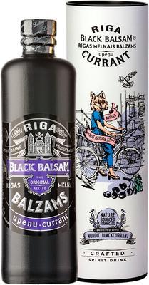 Ликер «Riga Black Balsam Currant» в тубе