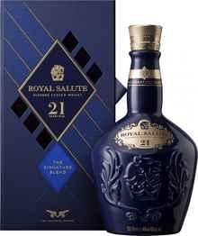 Виски шотландский «Chivas Regal Royal Salute 21 years old» в подарочной упаковке