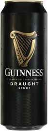 Пиво «Guinness Draught» в жестяной банке, с азотной капсулой