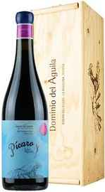 Вино красное сухое «Picaro del Aguila Ribera del Duero» 2016 г. в деревянной коробке