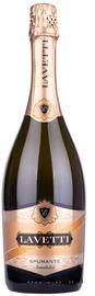 Вино игристое белое полусладкое «Lavetti Spumante Semidolce»