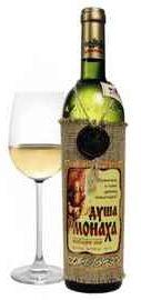 Вино столовое белое полусладкое  «Душа Монаха»