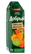 Сок «Добрый Яблоко Цитрус»