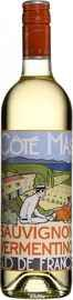 Вино белое сухое «Cote Mas Sauvignon-Vermentino Pays d Oc» 2019 г.