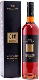 Вино крепленое сладкое «Moscatel de Setubal» 2017 г., в подарочной упаковке