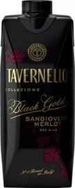 Вино столовое красное полусухое «Tavernello Black Gold» тетра-призма