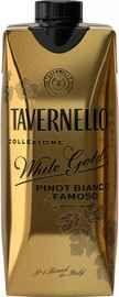 Вино столовое белое полусухое «Tavernello White Gold» тетра-призма