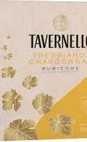 Вино белое полусухое «Tavernello Trebbiano–Chardonnay, 2.25 л» бэг-ин-бокс