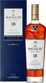 Виски шотландский «Macallan Double Cask 18 Years Old» в подарочной упаковке