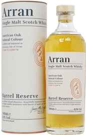 Виски шотландский «Arran Barrel Reserve» в тубе