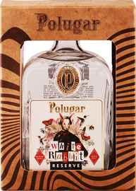 Напиток спиртной зерновой дистиллированный купажированный «Polugar White Rabbit Reserve» в подарочной упаковке