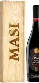 Вино красное полусухое «Masi Costasera Amarone Classico Riserva» 2013 г. в деревянной коробке