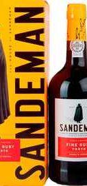 Портвейн «Sandeman Porto Ruby» в подарочной упаковке