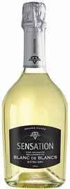 Вино игристое белое сухое «Sensation Blanc de Blanc»